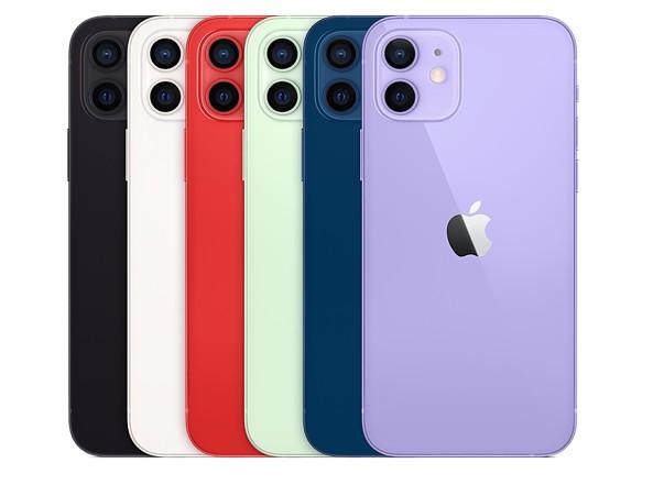 iPhone12は6つのカラーとなった