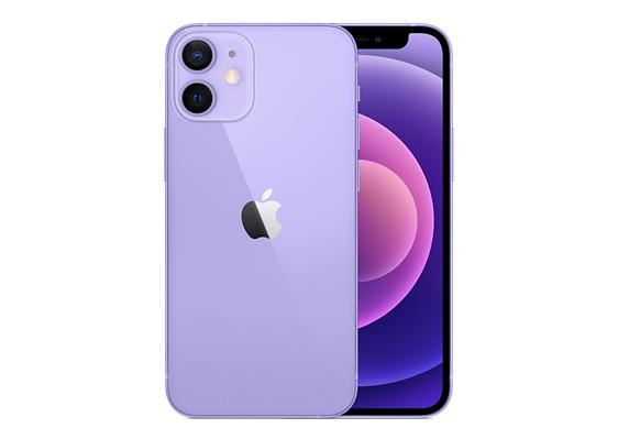 iPhone 12のパープル