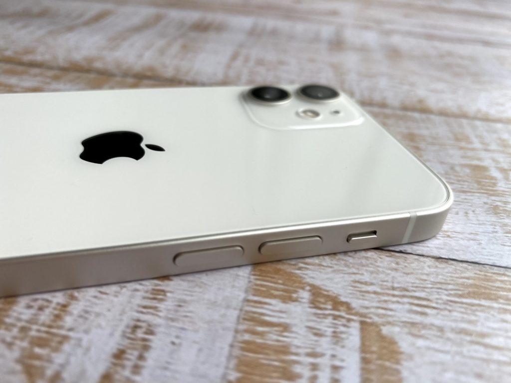iPhone 12 minのエッジ