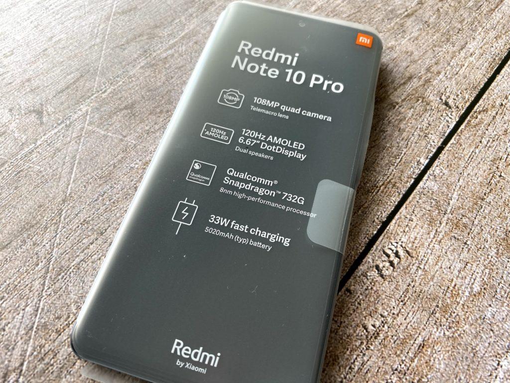Redmi Note 10 Pro本体