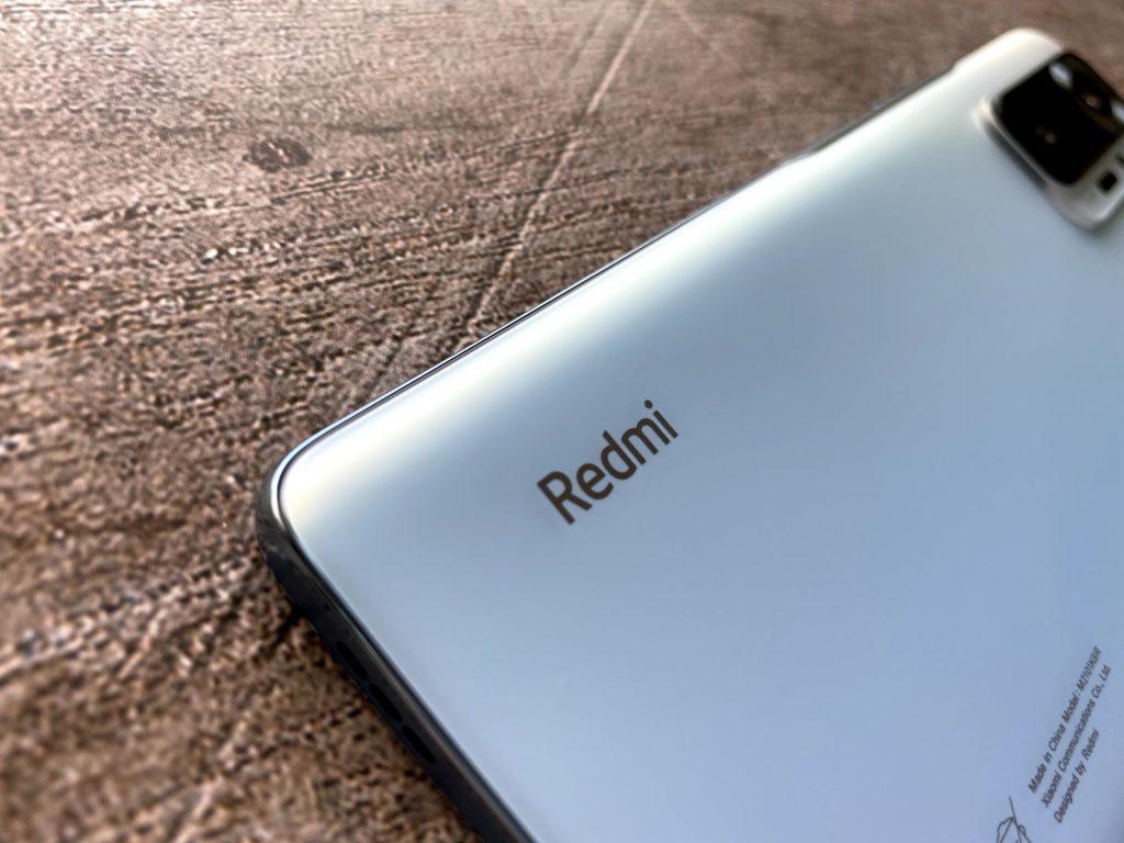 Redmi Note 10 Proのグレイシャーブルー