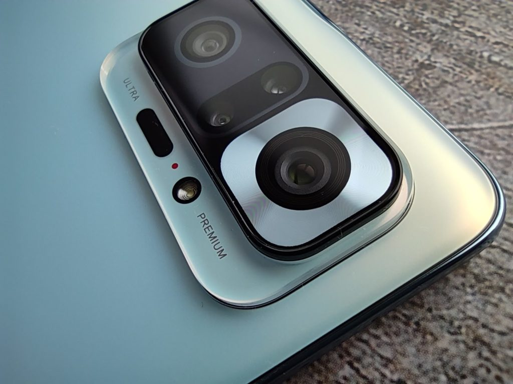 Redmi Note 10 Proのクアッドカメラ