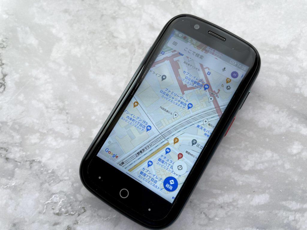 Jelly2でGoogleマップを表示