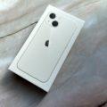 iPhone 13 miniの外箱