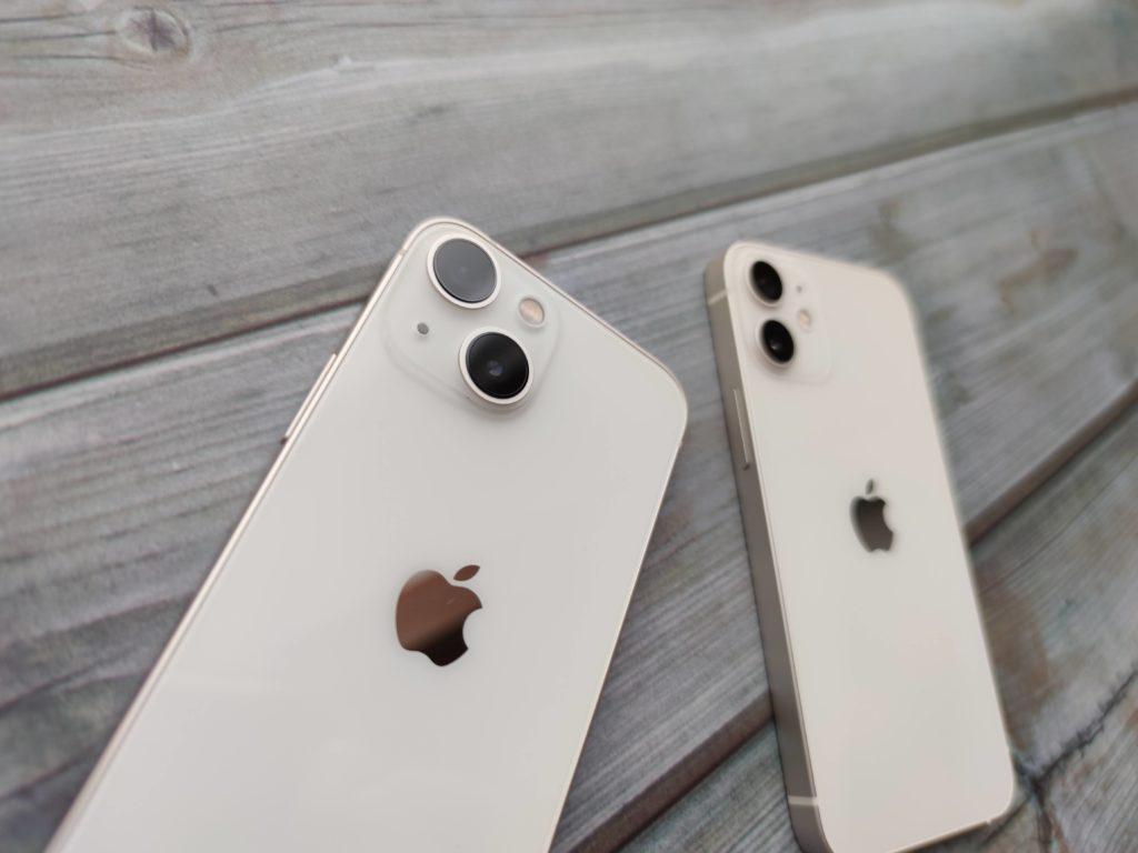 iPhone 13 miniと12 mini どちらも捨てがたい